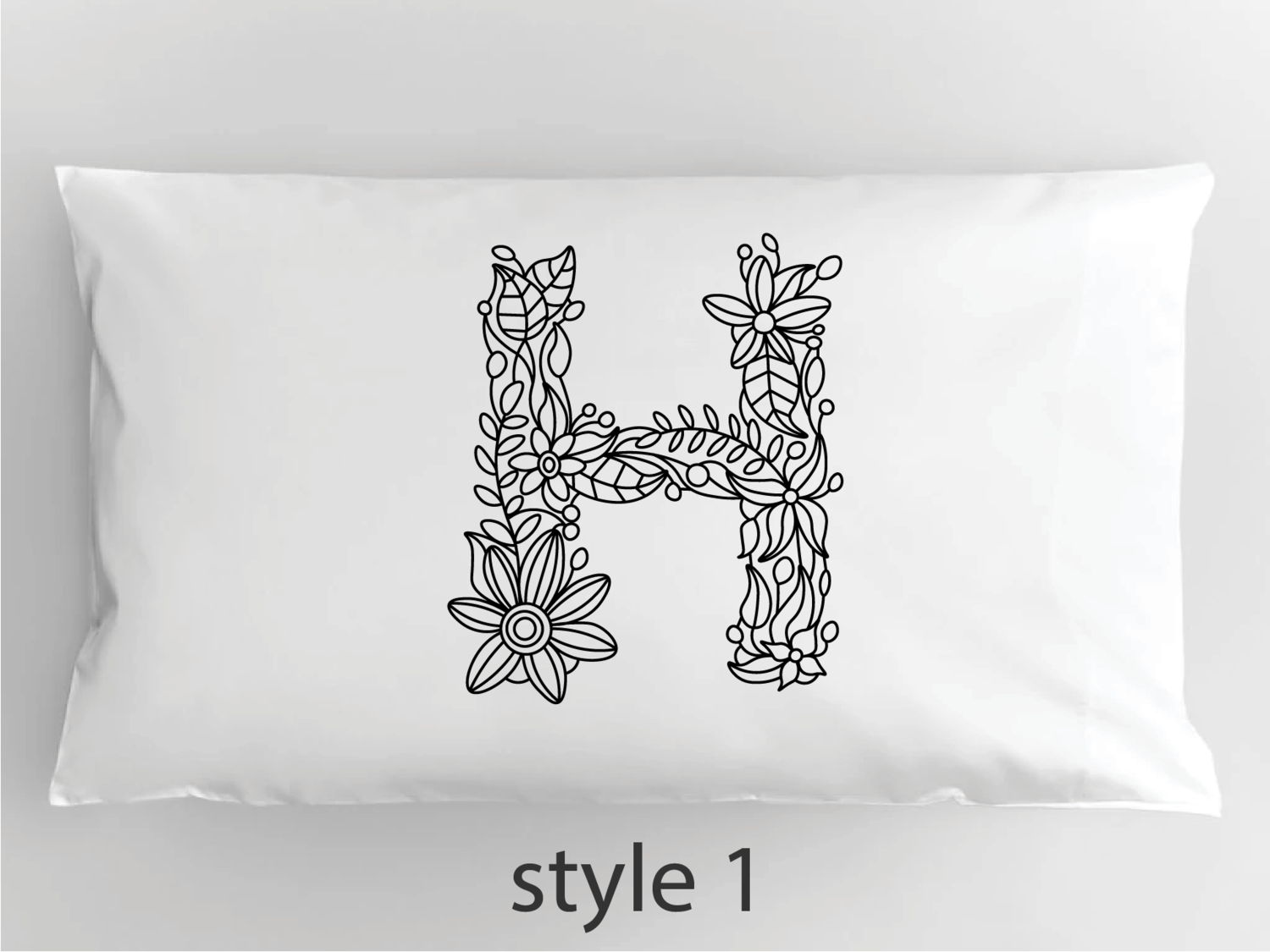 "Color-In Your Own Personalized Pillowcase, 20""x29"