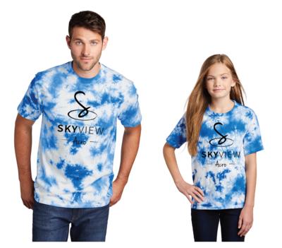 Crystal Tie-Dye Tee - Skyview Acro Gym