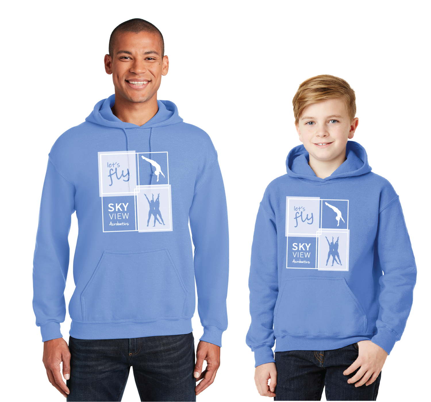 Pullover Hoodie - Skyview Acro Gym