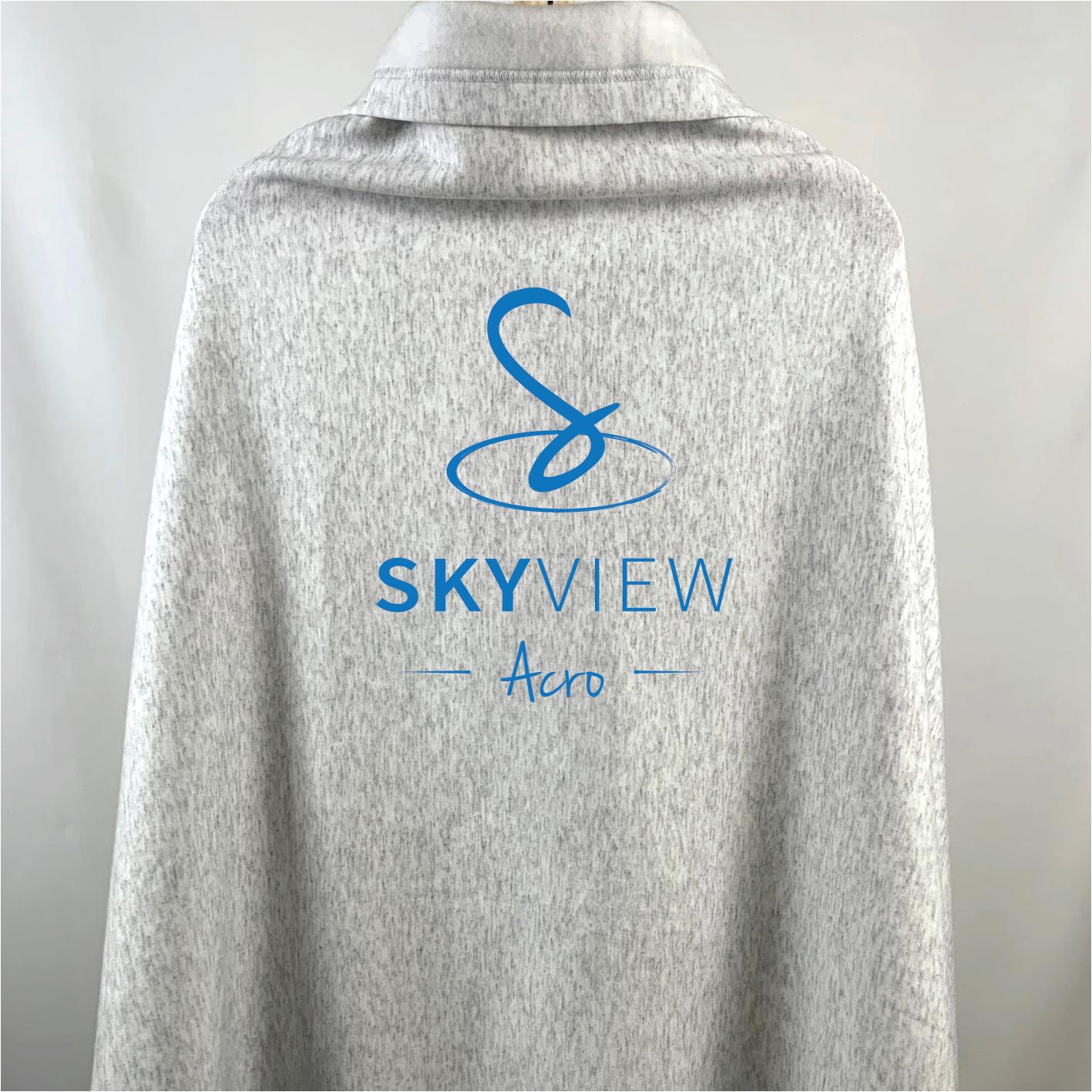 Sweatshirt Blanket - Skyview Acro Gym