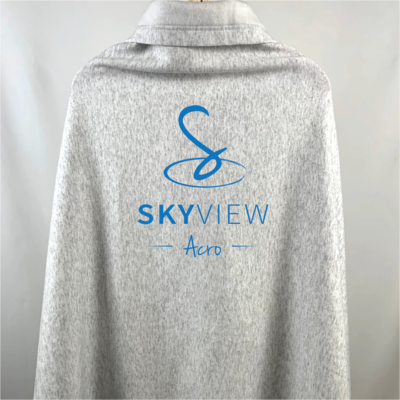 Sweatshirt Blanket - Skyview Acro Gym