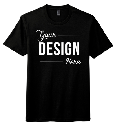 Custom District Triblend Unisex Short Sleeve Shirt