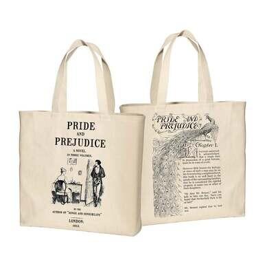 Pride and Prejudice by Jane Austen Tote Bag