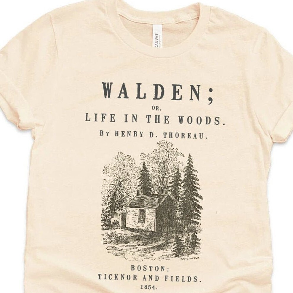 Walden by Henry David Thoreau Shirt