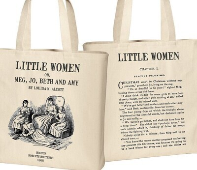 Jane Eyre by Charlotte Bronte Tote