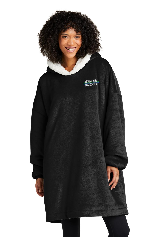Eagan Hockey Port Authority Mountain Lodge Wearable Blanket