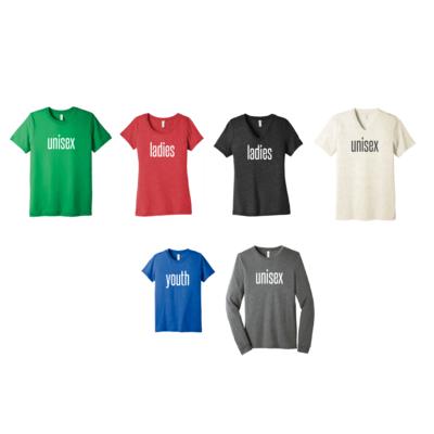 Bella+Canvas Triblend Shirts