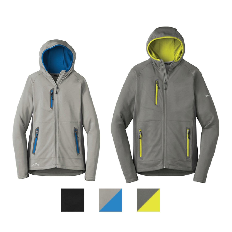 Eddie Bauer Sport Hooded Full-Zip Fleece Jacket
