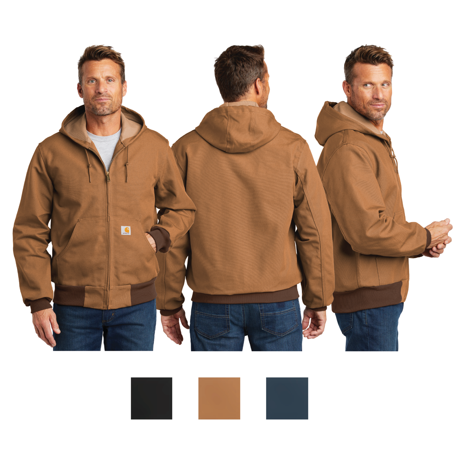 Carhartt Thermal Lined Duck Active Jacket - Regular and Tall