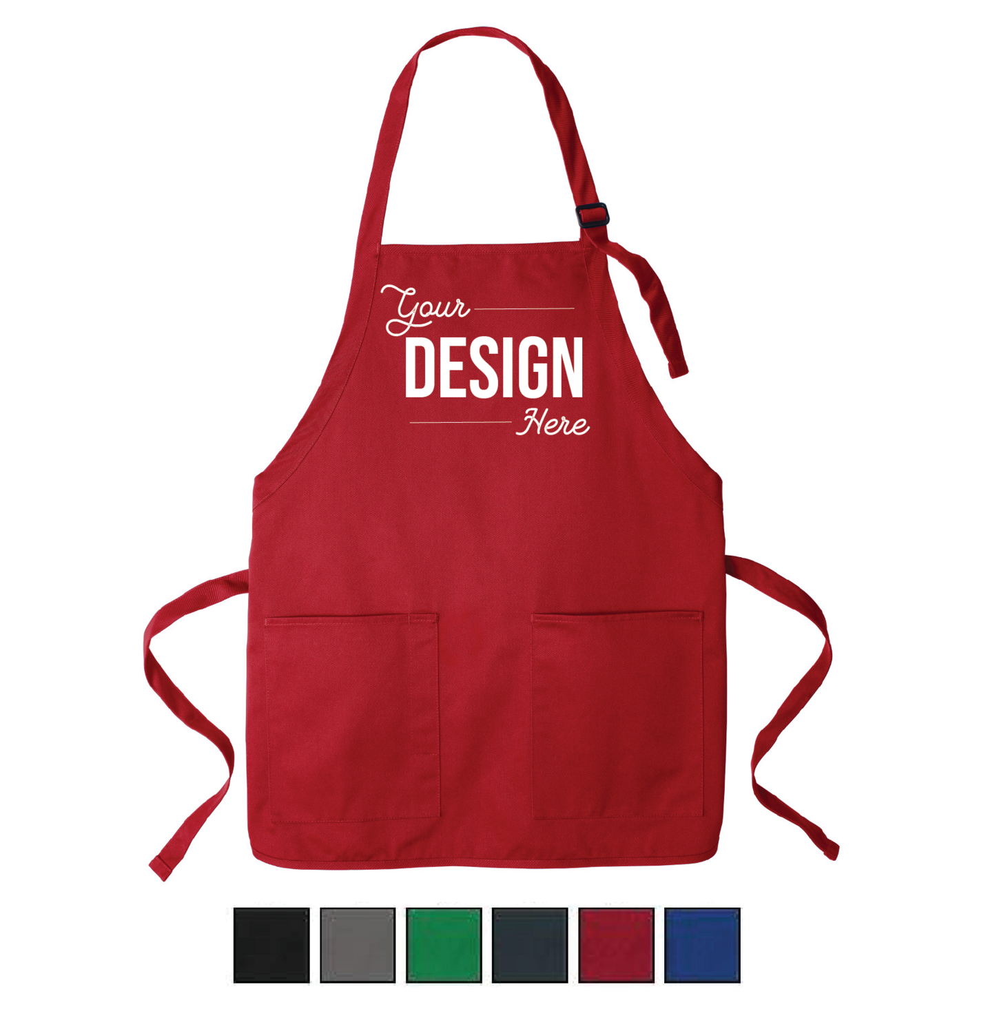 Port Authority Medium Length Two Pocket Apron - Perfect for Kids