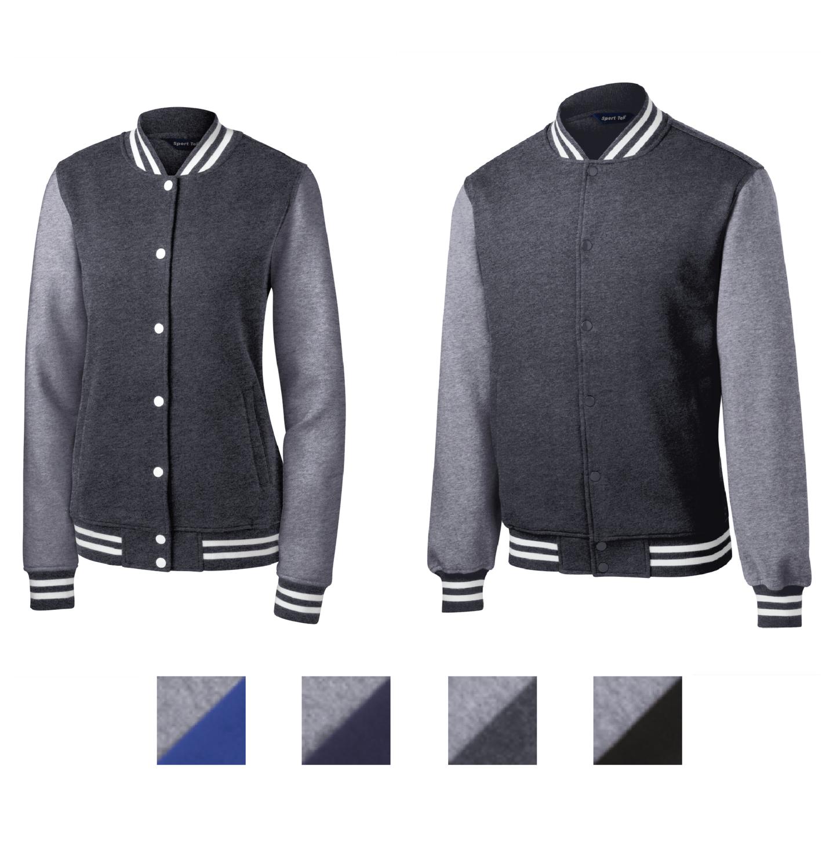 Sport-Tek Fleece Letterman Jackets