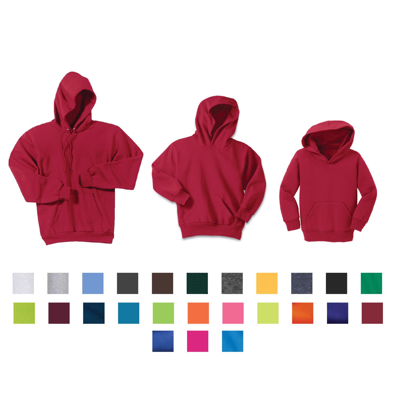 Port & Company - Core Fleece Hooded Pullover