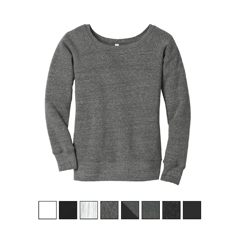 Women's Wide-Neck Sweatshirt