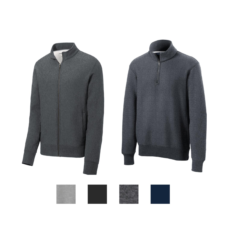 Sport-Tek Super Heavyweight 1/4 and Full Zip Sweatshirts