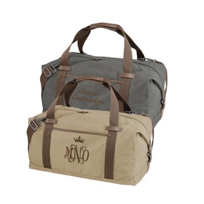 Port Authority Cotton Canvas Duffel Bag