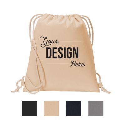 Port Authority Cotton Cinch Pack Bag