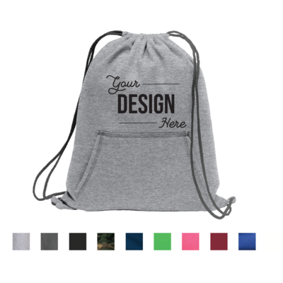 Port & Company Core Fleece Sweatshirt Cinch Pack Bag