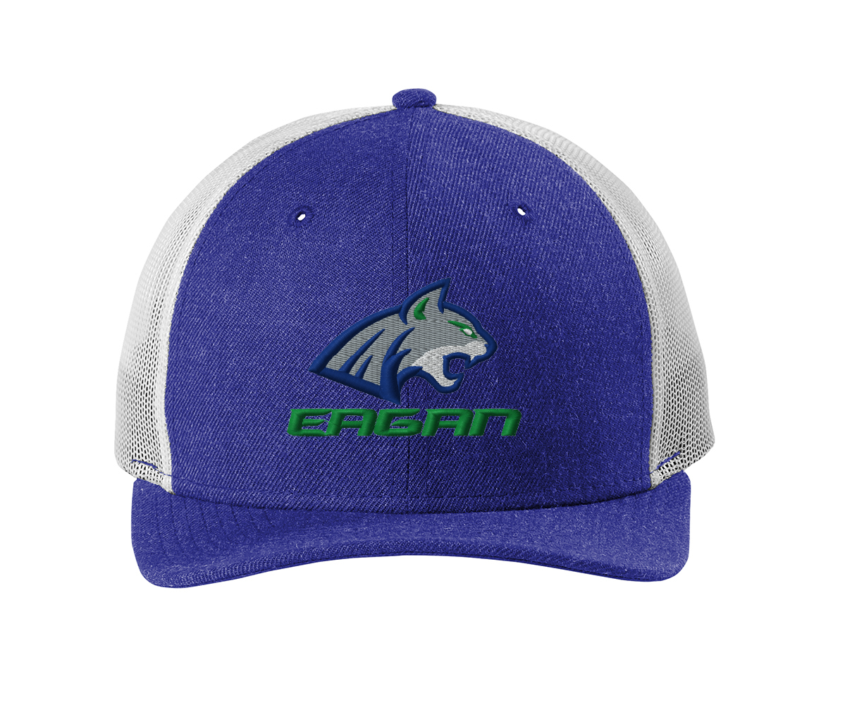 Eagan Wildcat New Era ® Snapback Low Profile Trucker Cap