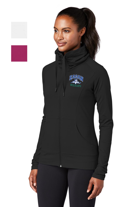 Eagan Hockey Ladies Sport-Wick Stretch Full-Zip Jacket