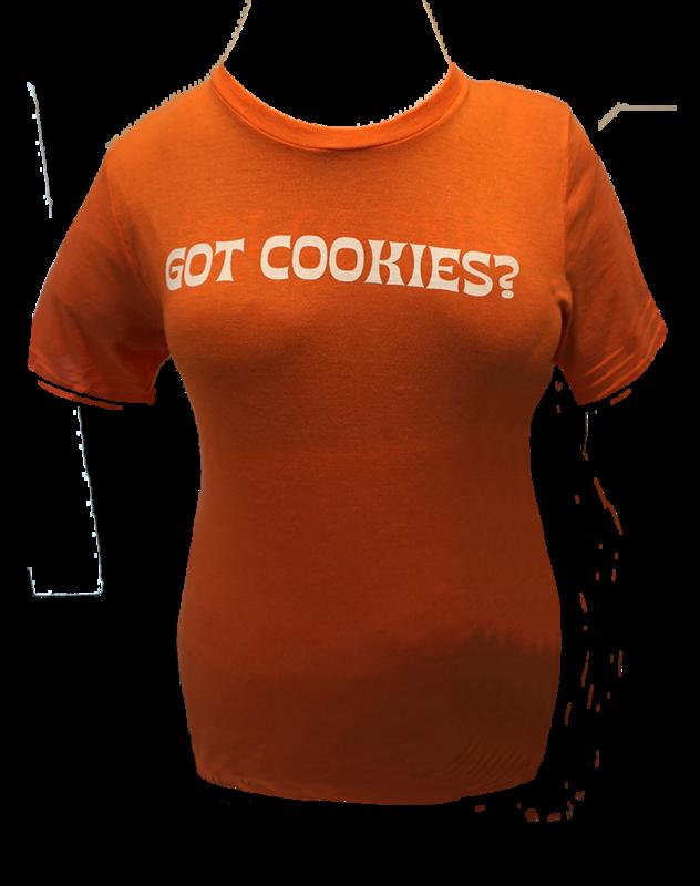 100% Cotton & Eco-Friendly Women T-shirt  (Sunset Orange)
