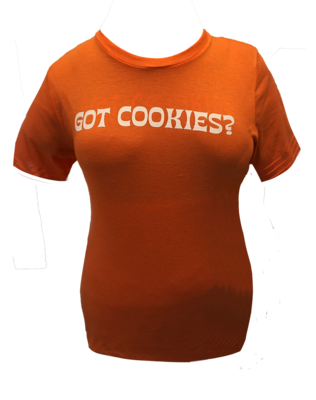 100% Cotton & Eco-Friendly Women T-shirt  (Sunset Orange)