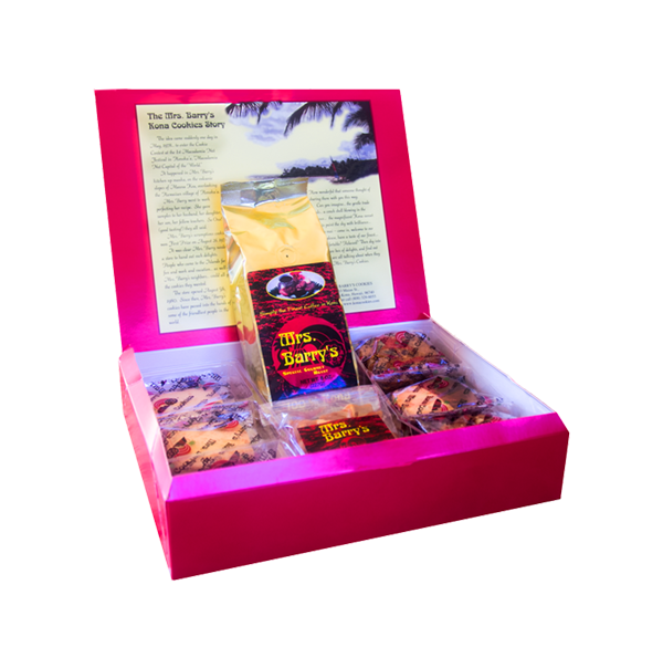"""Mrs. Barry's Best Special """"Kona Cookies, Coffee & Brittle Sampler Assortment"""" 