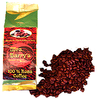 100% Kona Coffee | Hualalai Volcano | 8 oz. Whole Bean