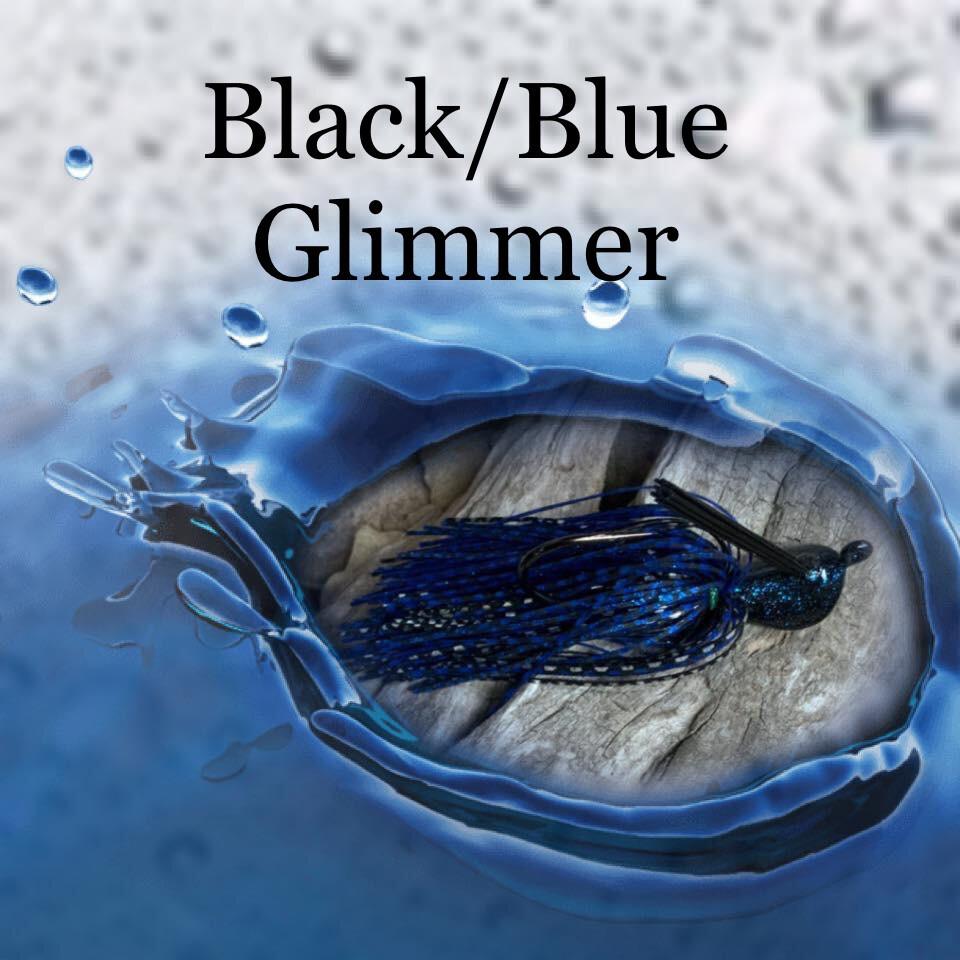 Black/Blue Glimmer