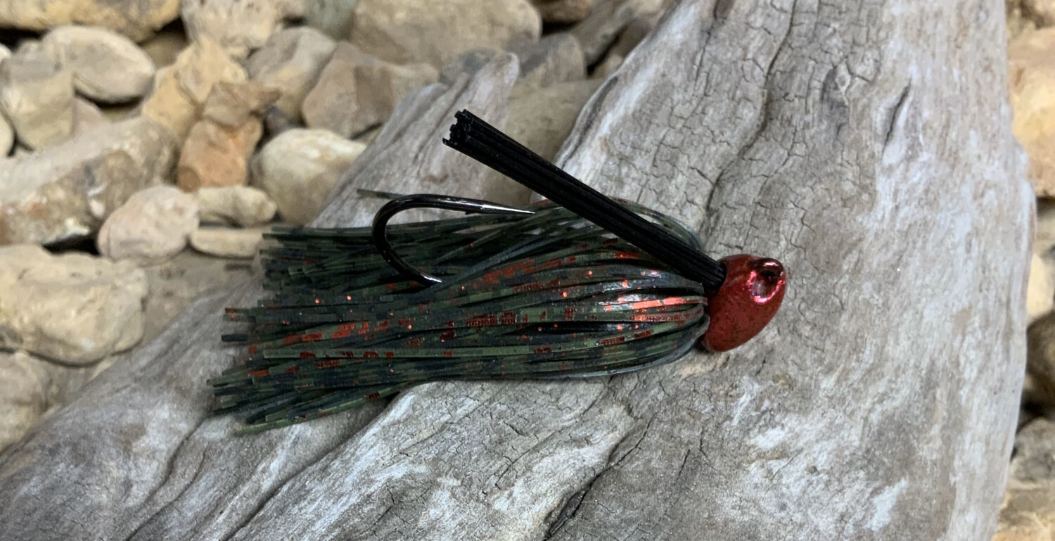 Heavy Brush Head Jigs