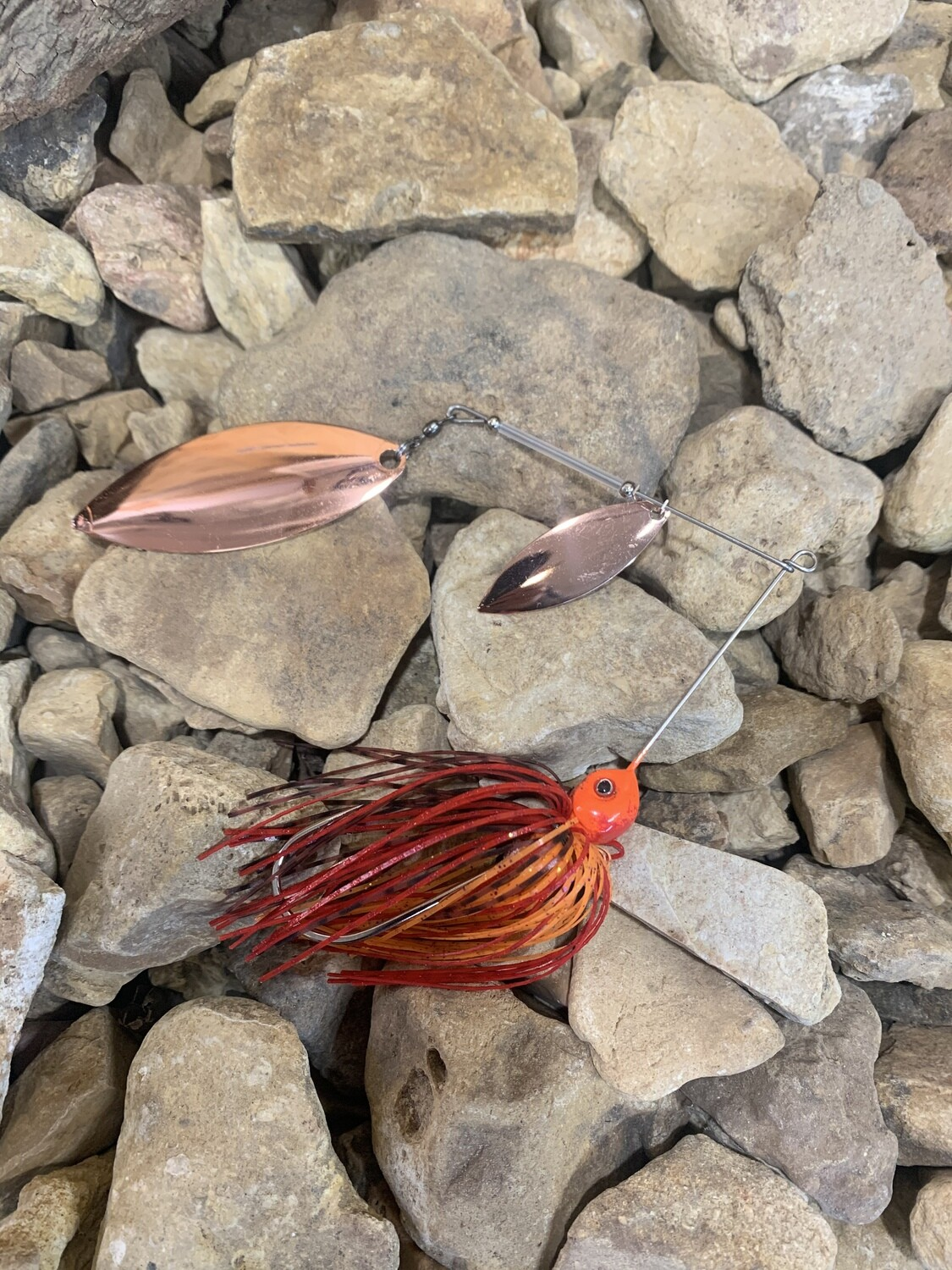Limited Edition Firecraw Spinnerbait