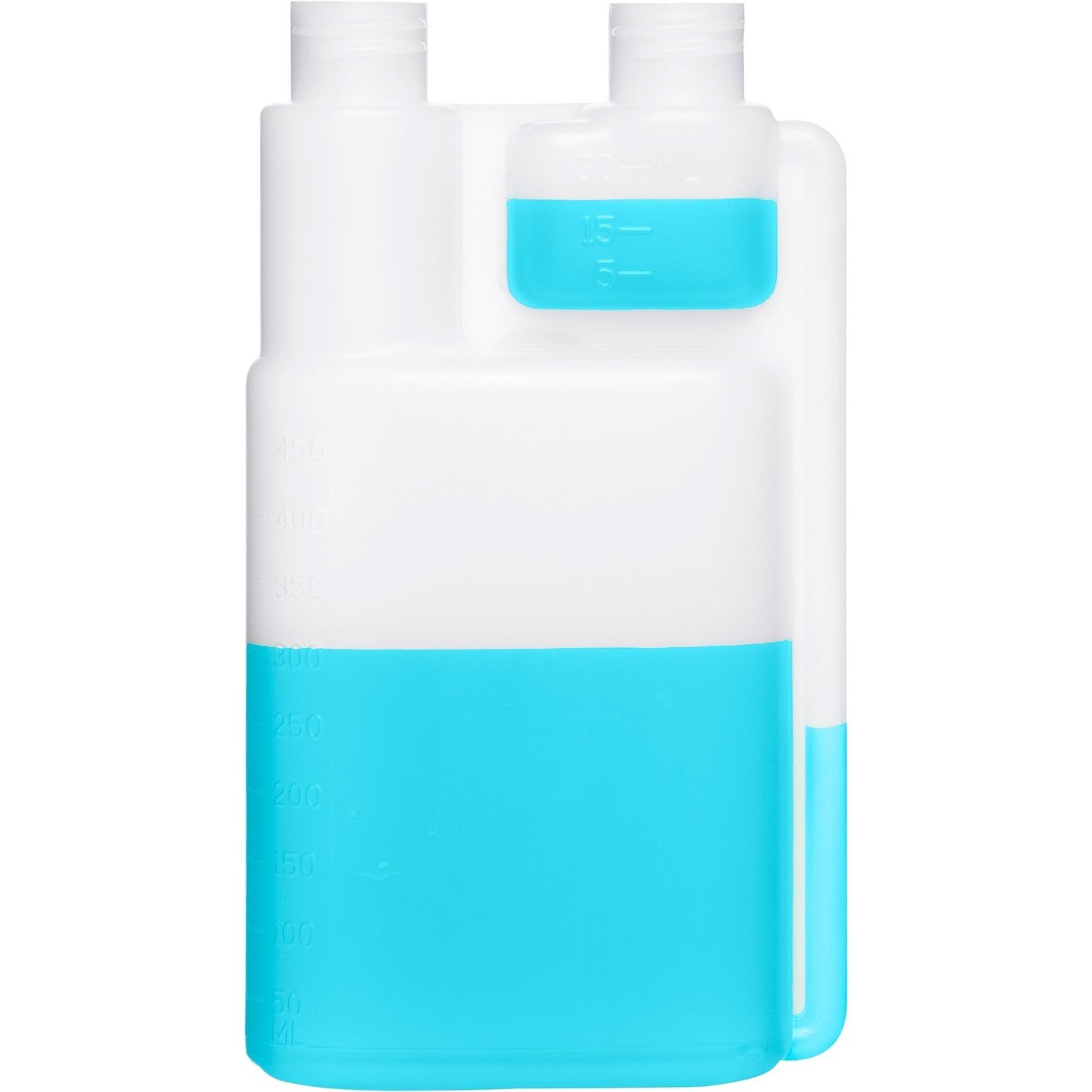 Twin Neck Dosing Bottles(Pack of Two, 1 Liter each)