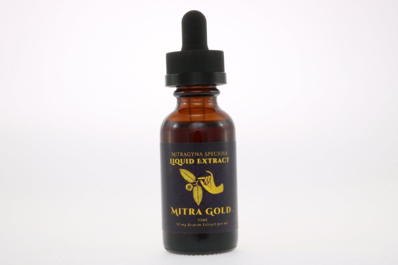 Mitragyna speciosa kratom full spectrum extract tincture Red Maeng Da strain