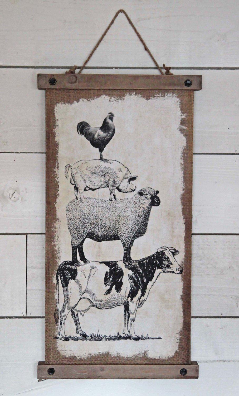 Farm Friends Wall Art