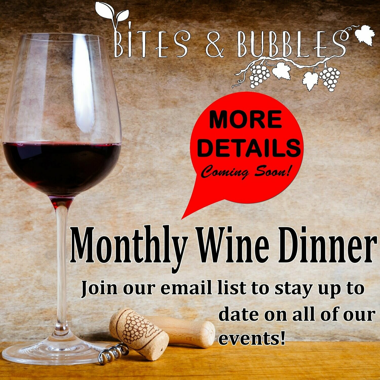 March Wine Dinner