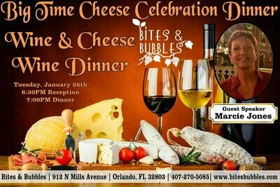 Big Time Cheese Celebration Dinner