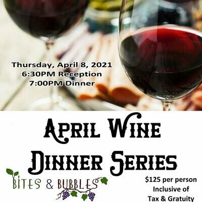 April Wine Dinner