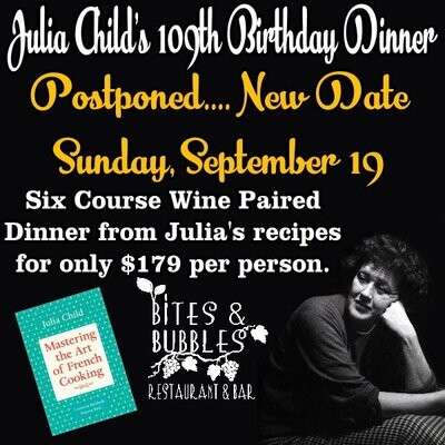 Julia Child's Wine Dinner