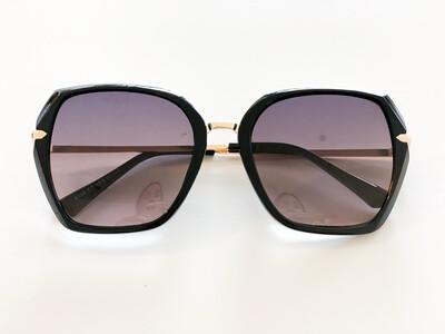 Zonnebril Audrey Zwart