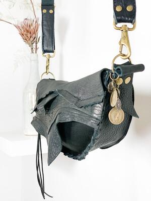 Heup - schoudertasje met binnenvakje met rits