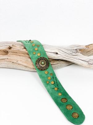 Armband Green Suède