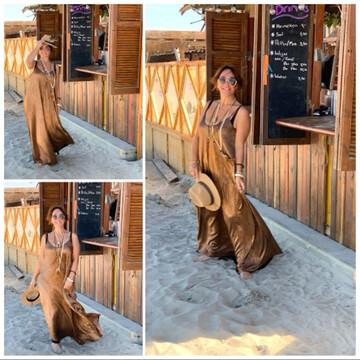Dress Summer one size : Geschikt Voor  M Tot XL 🌸