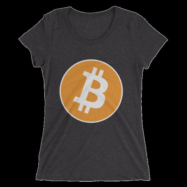 Bitcoin - Ladies' short sleeve t-shirt