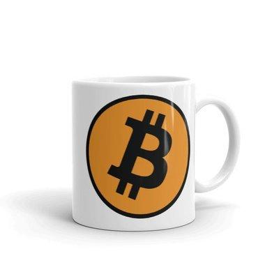 Bitcoin Mug - Black Lettering