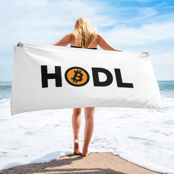HODL Bitcoin Towel