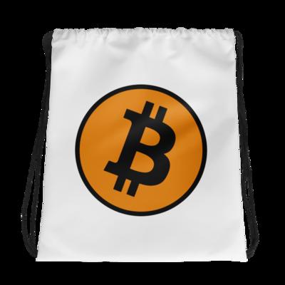 Bitcoin Drawstring bag