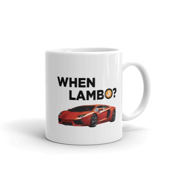 When Lambo? - Bitcoin Coffee Mug