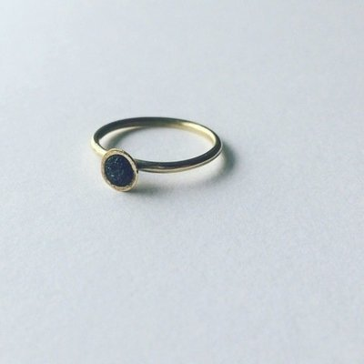 Brass and Coal ring