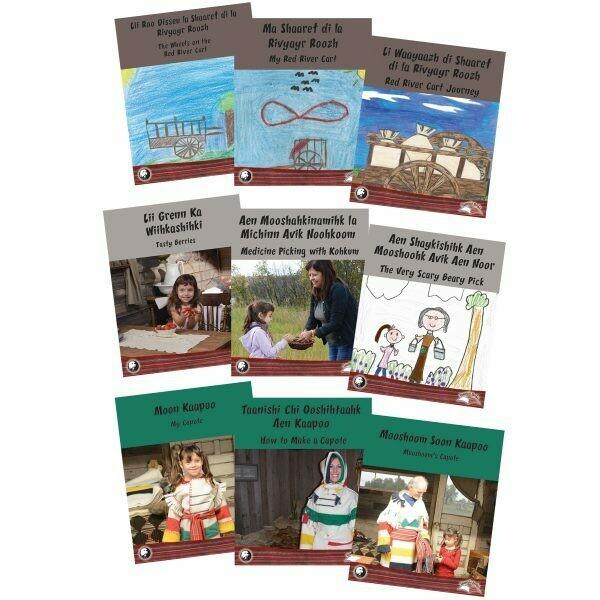 Taanishi Books - Series 2 - Michif and English