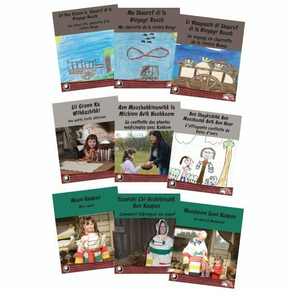 Taanishi Books - Series 2 - Michif and French