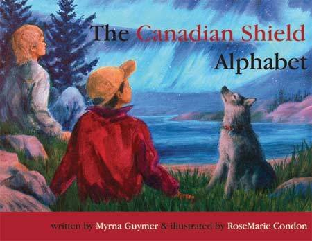 Canadian Shield Alphabet Map